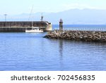 Boat Arriving To The Port In...