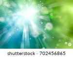 blue  green and white circles... | Shutterstock . vector #702456865