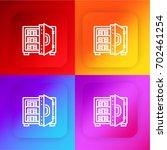 strongbox four color gradient...