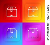 box four color gradient app...