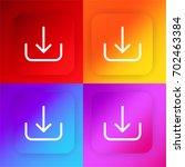 download four color gradient...