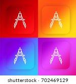compass four color gradient app ...