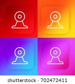webcam four color gradient app...
