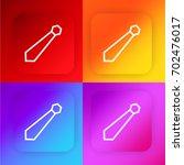 tie four color gradient app...