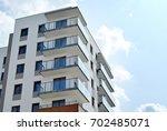 modern  luxury apartment... | Shutterstock . vector #702485071