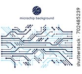 abstract technology... | Shutterstock . vector #702485239