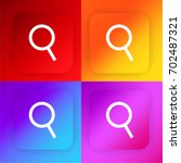 loupe four color gradient app...
