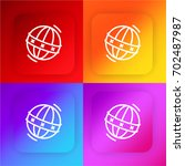 ball four color gradient app...