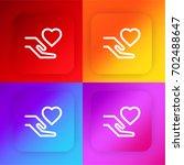 charity four color gradient app ...