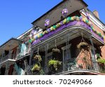 Typical French Quarter Wrought...
