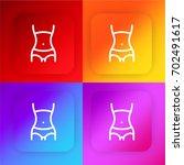 waist four color gradient app...
