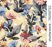 vintage seamless pattern for... | Shutterstock .eps vector #70250722