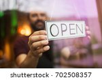 small business  people and... | Shutterstock . vector #702508357