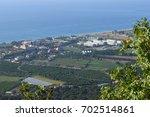 landscape of turkey near kemer  ... | Shutterstock . vector #702514861