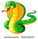 vector illustration of cobra...   Shutterstock .eps vector #702541879