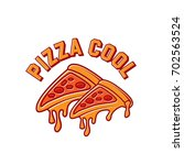 pizza logo symbol    Shutterstock .eps vector #702563524