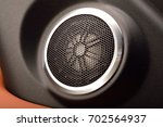car audio system close up... | Shutterstock . vector #702564937
