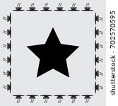 star icon | Shutterstock .eps vector #702570595