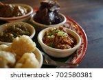 local northern thai food | Shutterstock . vector #702580381