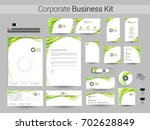 corporate identity or business... | Shutterstock .eps vector #702628849