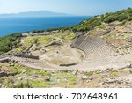 Assos Antique Amphitheatre....
