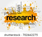 research word cloud collage ... | Shutterstock . vector #702662275