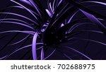 black purple shape background.... | Shutterstock . vector #702688975