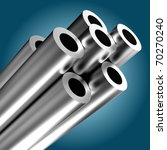 metal tube | Shutterstock . vector #70270240