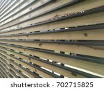 lines and woodwork | Shutterstock . vector #702715825