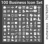 business finance icon set | Shutterstock .eps vector #702782095