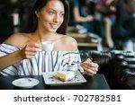girl | Shutterstock . vector #702782581