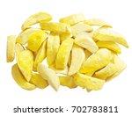 mango freeze dry on white... | Shutterstock . vector #702783811