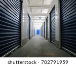 Rows Of Indoor Storage Units ...