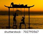Pleasure In The Sea Swing. Gil...