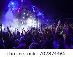 cluj napoca  romania   august 3 ... | Shutterstock . vector #702874465