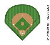 baseball related icon image | Shutterstock .eps vector #702891235