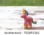 plasticine world   handmade... | Shutterstock . vector #702891361