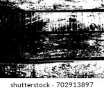 grunge old wood black cover... | Shutterstock .eps vector #702913897