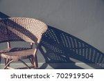 Rattan Chair On Floor  Interior ...