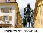 yverdon les bains  switzerland  ... | Shutterstock . vector #702934387