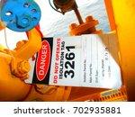 gas process valve isolation... | Shutterstock . vector #702935881
