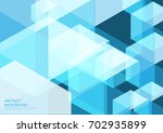 blue abstract background | Shutterstock .eps vector #702935899