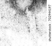 grunge halftone black and white.... | Shutterstock . vector #702944197