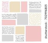 vector abstract artistic... | Shutterstock .eps vector #702996805