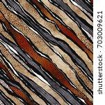geometric pattern.. zebra and... | Shutterstock . vector #703009621