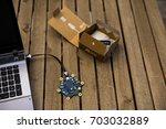 german programming platform... | Shutterstock . vector #703032889