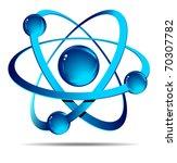 atom | Shutterstock .eps vector #70307782