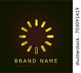 loading golden metallic logo