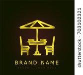 terrace golden metallic logo