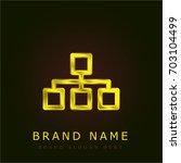 organization golden metallic...
